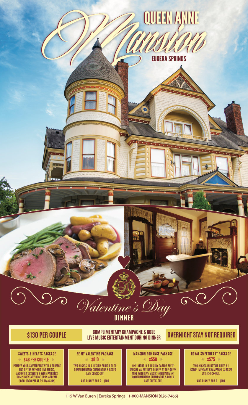 Valentine's dinner event Feb 2021