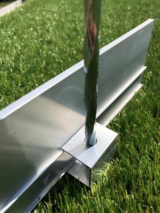Hedge Aluminium Garden Edging Fixing Sys