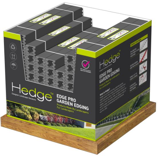 Hedge Pallet Merchandiser