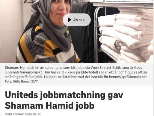 SVT reportage om Work United