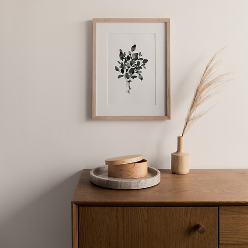 Signed Fine Art Print Eucalyptus Bouquet