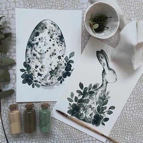 Signed FineArt Prints: Ostern Kollektion Prints