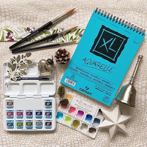 Holiday Watercolor Starterkit
