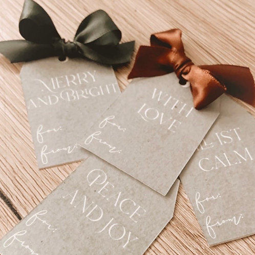 Goodie: Holiday Gift Tags
