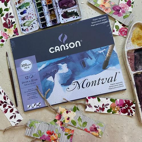 CANSON Montval Aquarellpapier - 2 Grössen