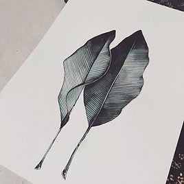 Leave Illustration