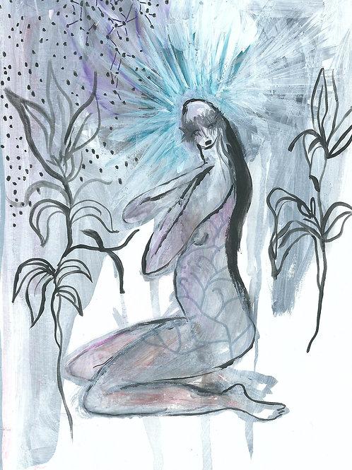 MILA, Original goddess painting