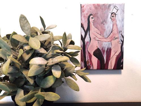 FLORA & ZAK, Original painting