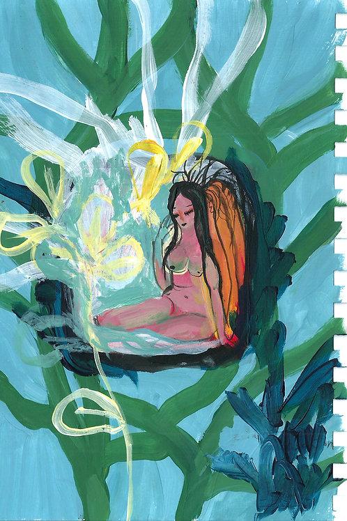 LINA, Original woman painting