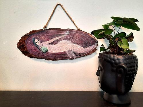 OMAYA, Spiritual ornament, Garnet Jade