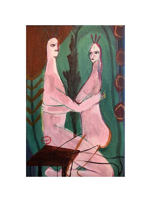 DALYAN & BOB, Original painting