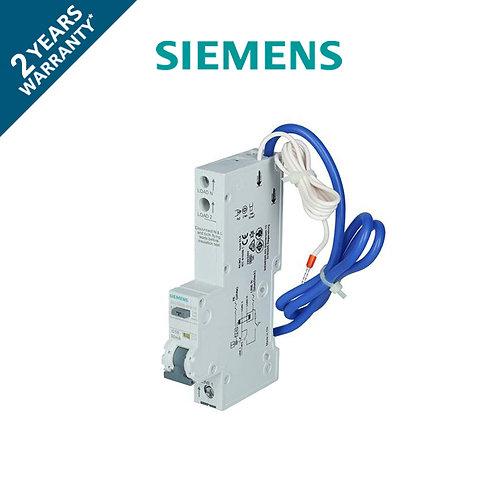 เบรกเกอร์ กันดูด กันรั่ว หางหนู 1P Siemens (6kA., 30mA.)