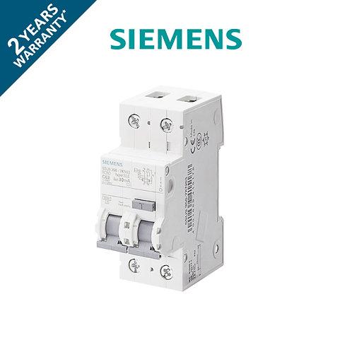 เมนเบรกเกอร์ กันดูดกันรั่ว 2P Siemens