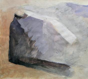 Lying Figure I. 33x40cm