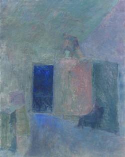 Atelier in the Night 90x80cm