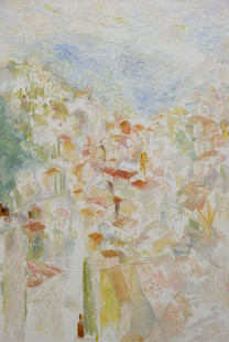 The Floating Town 160x100cm