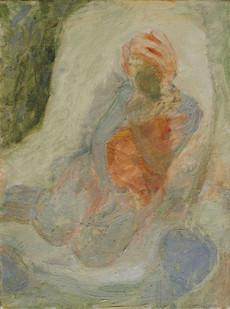 Sitting Woman 40x30cm