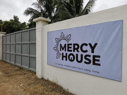 Completed Mercy House Fence