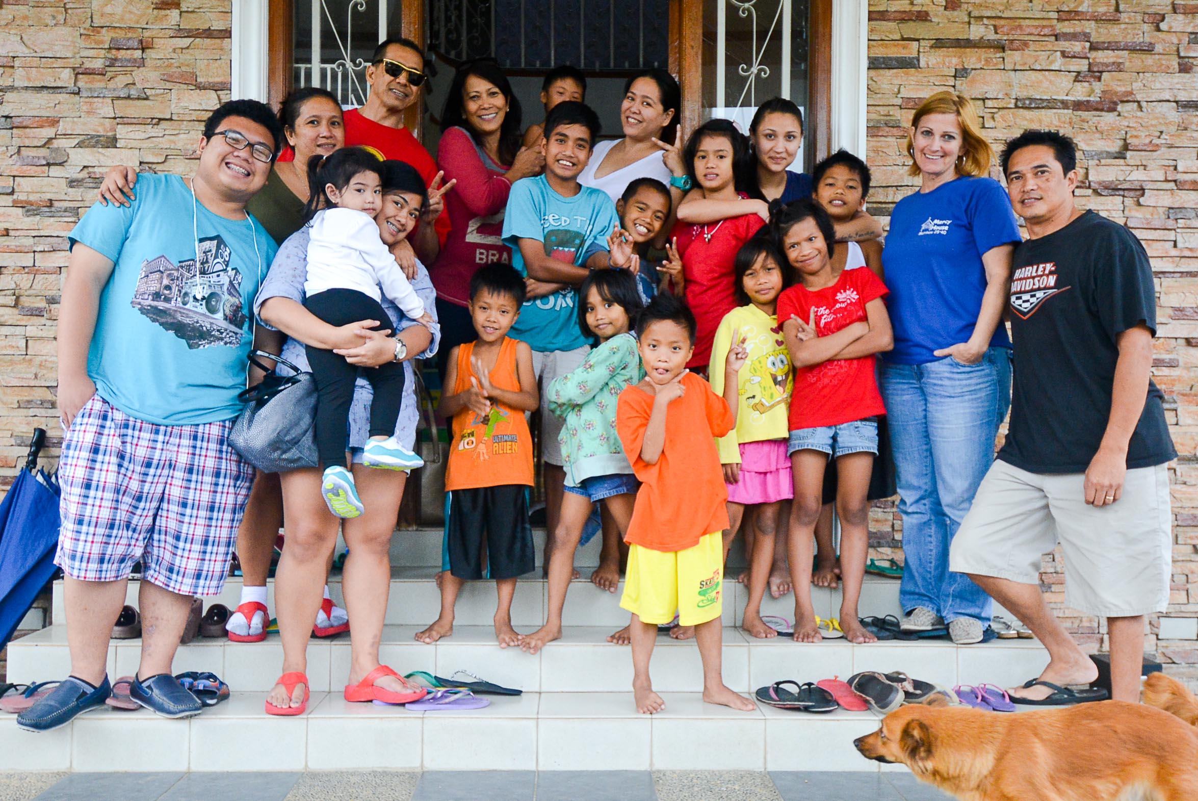 Family Visiting us...Salamat!