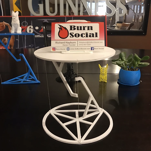 The Impossible Table! (Tensegrity Table)