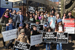 Spring 40 Days for Life End Rally