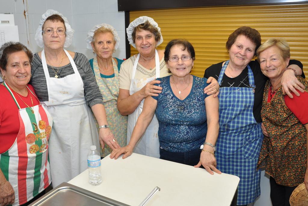 The ladies behind the meal