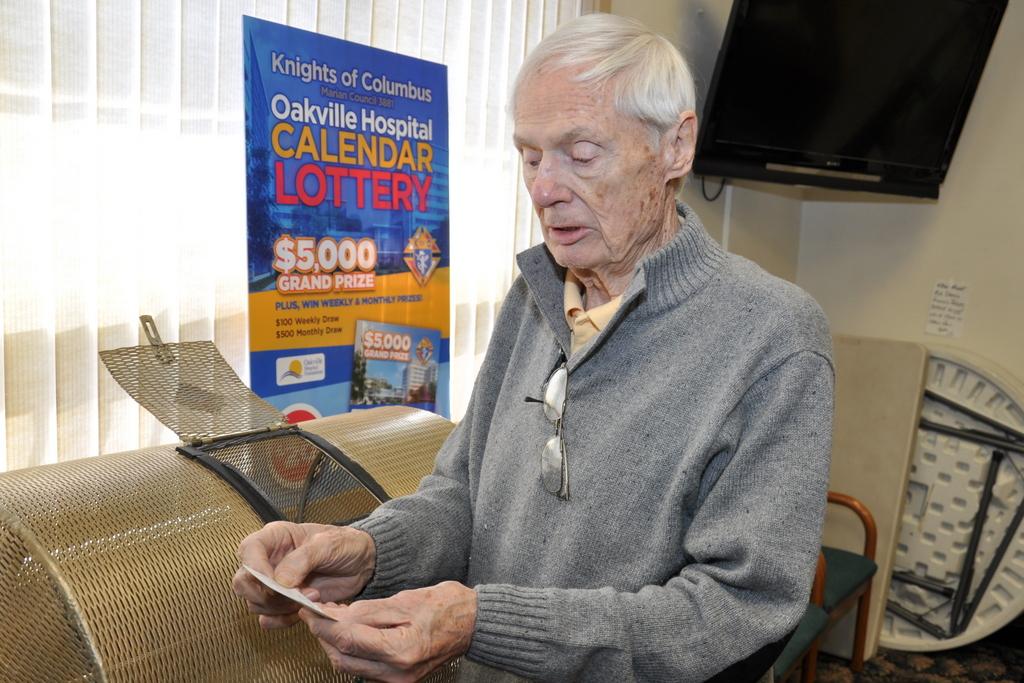 Hospital Calendar Lottery