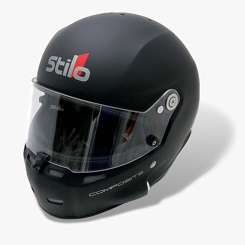 Stilo ST5 GT SA2020 Racing Helmet, Composite, Matte Black