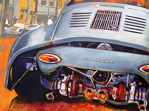Ultimate Outlaw 356 Porsche Limited Edition Print