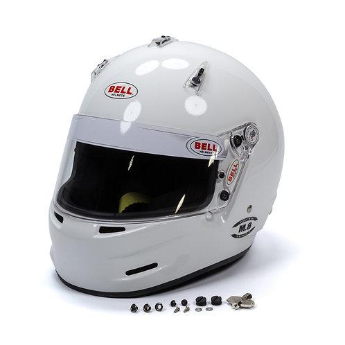 Bell M8 SA2020 Racing Helmet, White