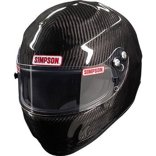 Simpson Carbon Devil Ray SA2020 Racing Helmet