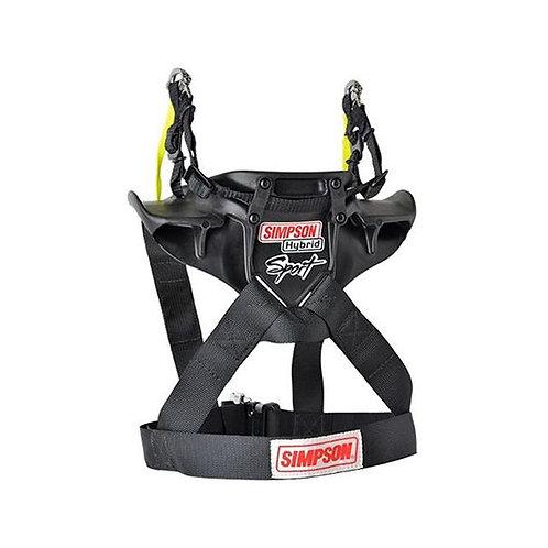 Simpson Hybrid Sport Head and Neck Restraint, Post Anchor