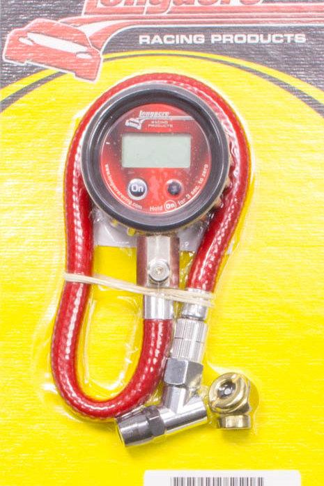 Longacre 0-60psi Digital Air Pressure Gauge, 0.1lb increments
