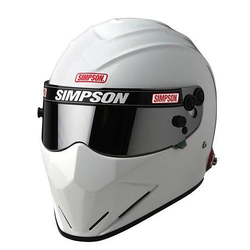 Simpson Diamondback SA2020 Racing Helmet, White