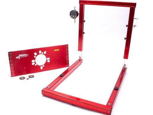 Longacre Precision Digital Bump Steer Gauge with Billet Plate