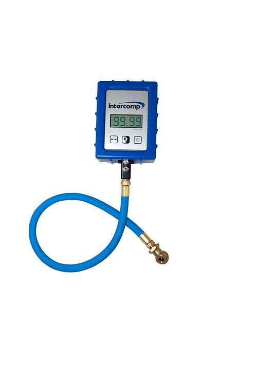 Intercomp 0-99psi Digital Air Pressure Gauge With Angle Chuck