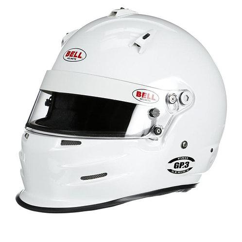 Bell GP3 Sport SA2020 Racing Helmet, White