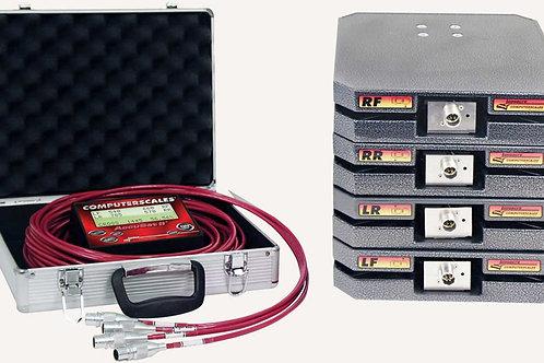 Longacre Computerscales® AccuSet II™ 1100 lb/pad