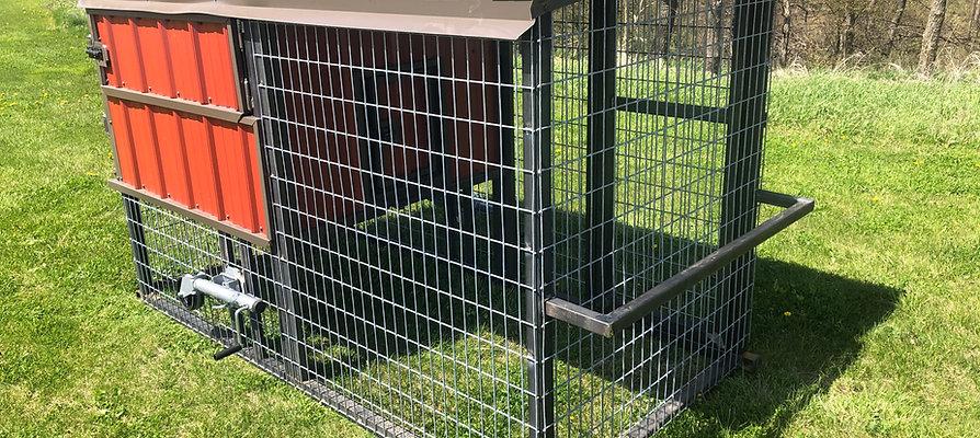 My Chicken House 4' W x 8' L x 5.5' H