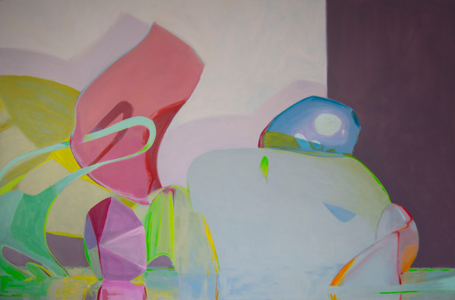 Ethereal Force, 2019, oil on canvas, 133 x 200 cm