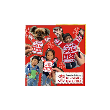"""Curated by Jaco Cheung, collaboration withK11 to co-presentcharityChristmasauction party, to supportcampaign CHRISTMAS JUMPER DAY 2018 by """"Save the Children""""."""