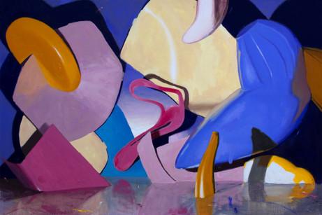 Original Things, 2021, oil on canvas, 80 x 120 cm