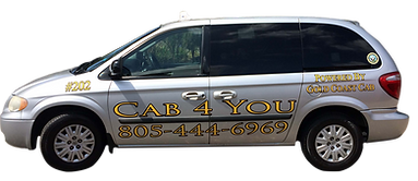 Image of Cab 4 You taxi service in Ventura California Save 20% Online Order Form