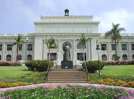 image of the histoirc ventura court house