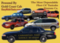 image of a fleet of taxicabs in ventura ca