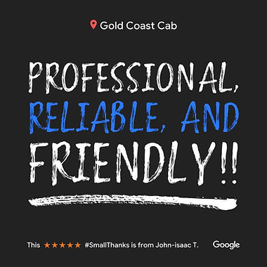 Image of Our Small Thanks By Google For Gold Coast Cab