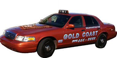 image of a taxi cab at work in ventura ca. taxi service for ventura california