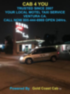 Image of taxis working in Oak View CA.