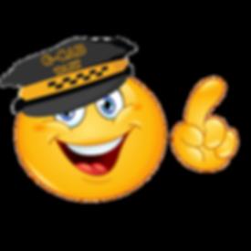 image of Gold Coast Cab emoji taxi driver