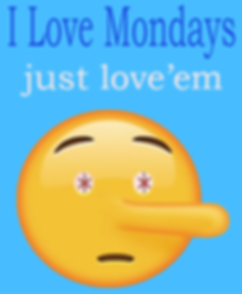 image of emoji showing special savings on mondays.